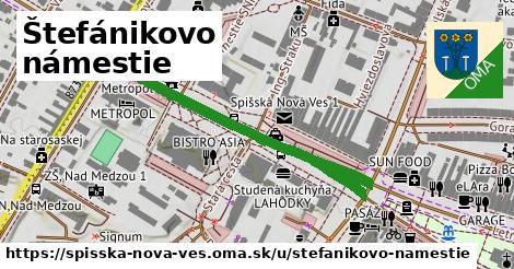 ilustračný obrázok k Štefánikovo námestie, Spišská Nová Ves