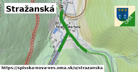 ilustrácia k Stražanská, Spišská Nová Ves - 383m