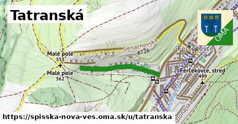 ilustrácia k Tatranská, Spišská Nová Ves - 325m