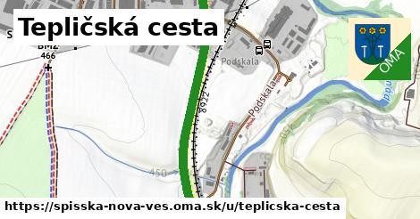 ilustračný obrázok k Tepličská cesta, Spišská Nová Ves