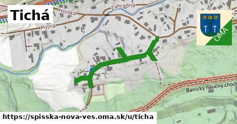 ilustrácia k Tichá, Spišská Nová Ves - 487m