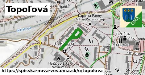ilustrácia k Topoľová, Spišská Nová Ves - 238m