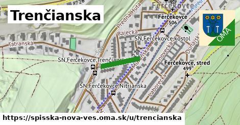 ilustrácia k Trenčianska, Spišská Nová Ves - 136m