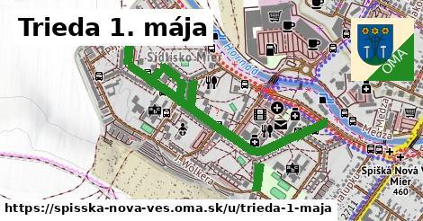 ilustrácia k Trieda 1. mája, Spišská Nová Ves - 1,31km