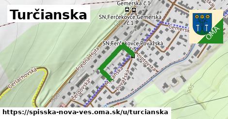 ilustrácia k Turčianska, Spišská Nová Ves - 204m
