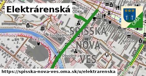 ilustrácia k Elektrárenská, Spišská Nová Ves - 481m