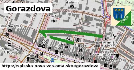 ilustrácia k Gorazdova, Spišská Nová Ves - 524m