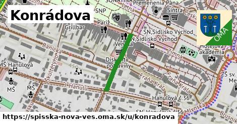 ilustrácia k Konrádova, Spišská Nová Ves - 265m