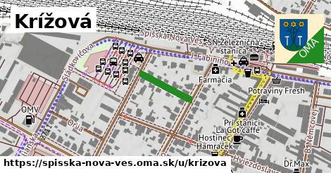 ilustrácia k Krížová, Spišská Nová Ves - 131m