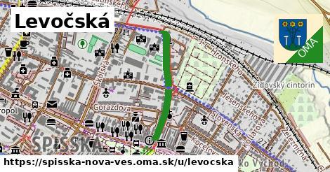 ilustrácia k Levočská, Spišská Nová Ves - 484m