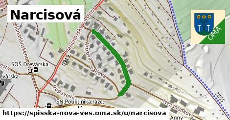 ilustrácia k Narcisová, Spišská Nová Ves - 262m