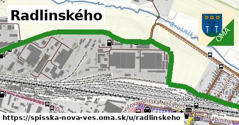 ilustrácia k Radlinského, Spišská Nová Ves - 2,5km