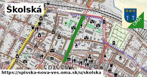Školská, Spišská Nová Ves