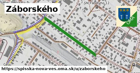 ilustrácia k Záborského, Spišská Nová Ves - 340m
