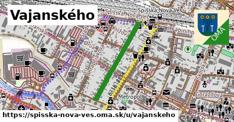 ilustrácia k Vajanského, Spišská Nová Ves - 567m