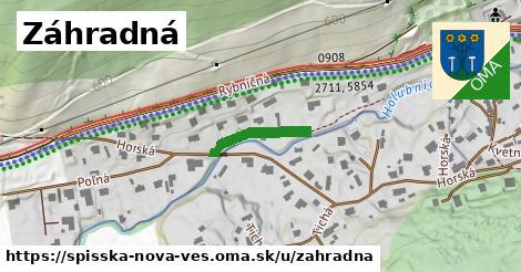ilustrácia k Záhradná, Spišská Nová Ves - 173m