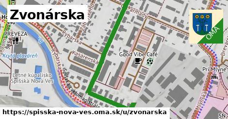 ilustrácia k Zvonárska, Spišská Nová Ves - 173m