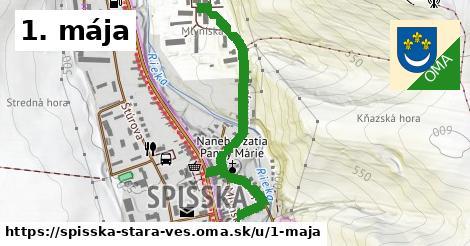 ilustrácia k 1. mája, Spišská Stará Ves - 0,93km