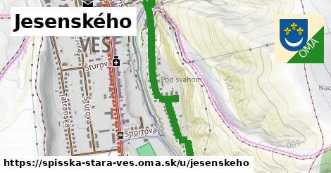 ilustrácia k Jesenského, Spišská Stará Ves - 1,11km