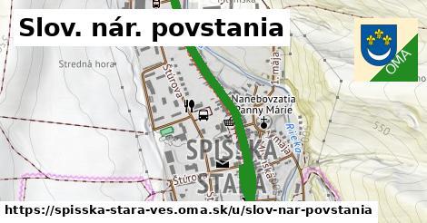 ilustrácia k Slov. nár. povstania, Spišská Stará Ves - 2,4km