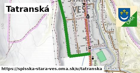 ilustrácia k Tatranská, Spišská Stará Ves - 0,85km