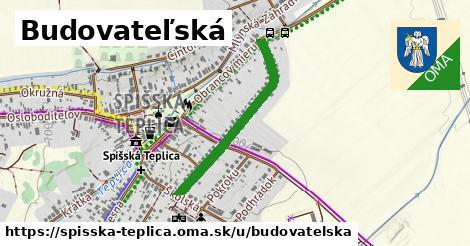 ilustrácia k Budovateľská, Spišská Teplica - 607m