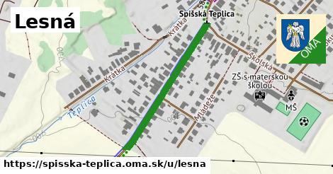 ilustračný obrázok k Lesná, Spišská Teplica
