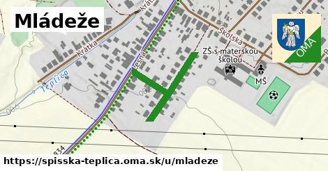 ilustrácia k Mládeže, Spišská Teplica - 264m