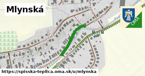 ilustrácia k Mlynská, Spišská Teplica - 406m