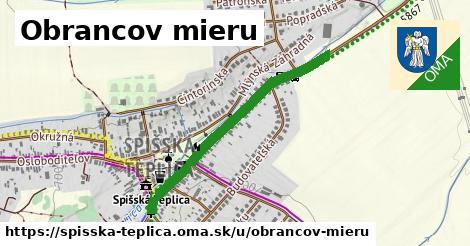 ilustrácia k Obrancov mieru, Spišská Teplica - 0,77km