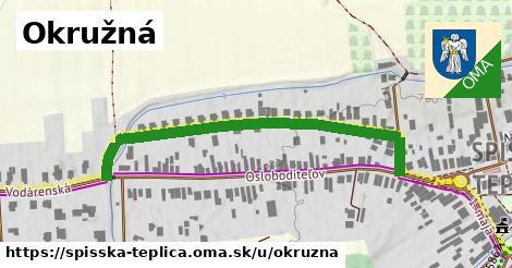 ilustrácia k Okružná, Spišská Teplica - 520m