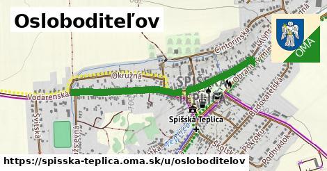 ilustrácia k Osloboditeľov, Spišská Teplica - 0,81km