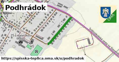 ilustrácia k Podhrádok, Spišská Teplica - 230m