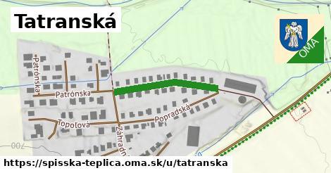 ilustrácia k Tatranská, Spišská Teplica - 233m
