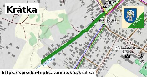 ilustrácia k Krátka, Spišská Teplica - 402m