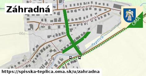 ilustrácia k Záhradná, Spišská Teplica - 250m