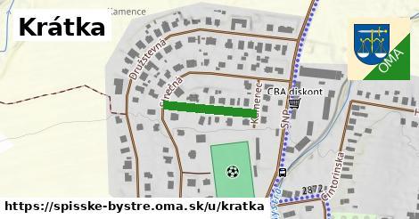 ilustrácia k Krátka, Spišské Bystré - 164m