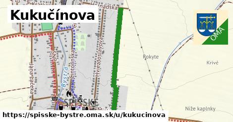 ilustrácia k Kukučínova, Spišské Bystré - 678m