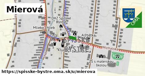 ilustrácia k Mierová, Spišské Bystré - 401m