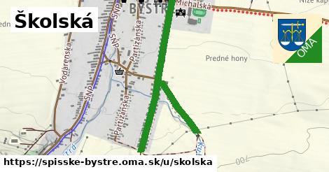 ilustračný obrázok k Školská, Spišské Bystré