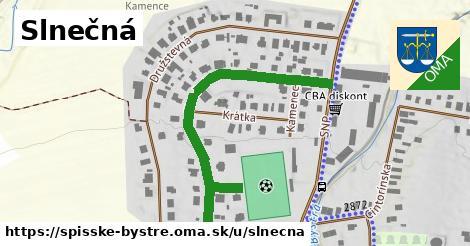 ilustrácia k Slnečná, Spišské Bystré - 462m
