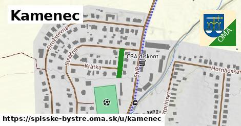 ilustrácia k Kamenec, Spišské Bystré - 90m