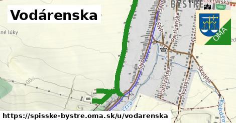 ilustrácia k Vodárenská, Spišské Bystré - 699m