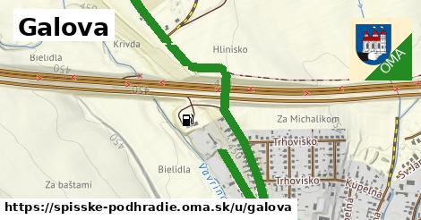 ilustrácia k Galova, Spišské Podhradie - 1,04km