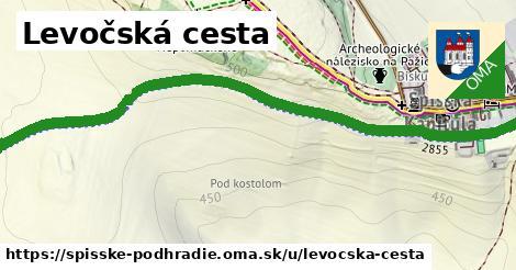ilustrácia k Levočská cesta, Spišské Podhradie - 0,97km