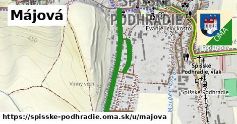 ilustrácia k Májová, Spišské Podhradie - 0,91km