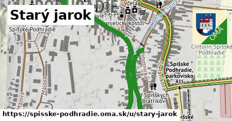 ilustrácia k Starý jarok, Spišské Podhradie - 0,87km