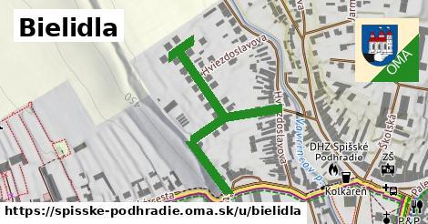 Bielidla, Spišské Podhradie