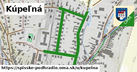ilustrácia k Kúpeľná, Spišské Podhradie - 0,90km