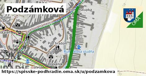 Podzámková, Spišské Podhradie